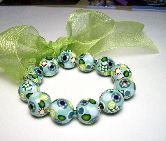 Star of David Beaded Bracelet Handmade by SweetchildJewelry, $17.00