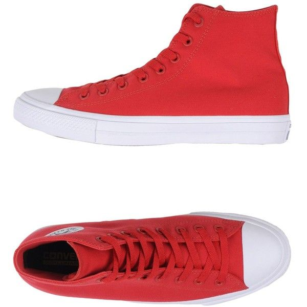 Converse All Star Sneakers ($138) ❤ liked on Polyvore featuring men's  fashion, men's · Mens Red ...