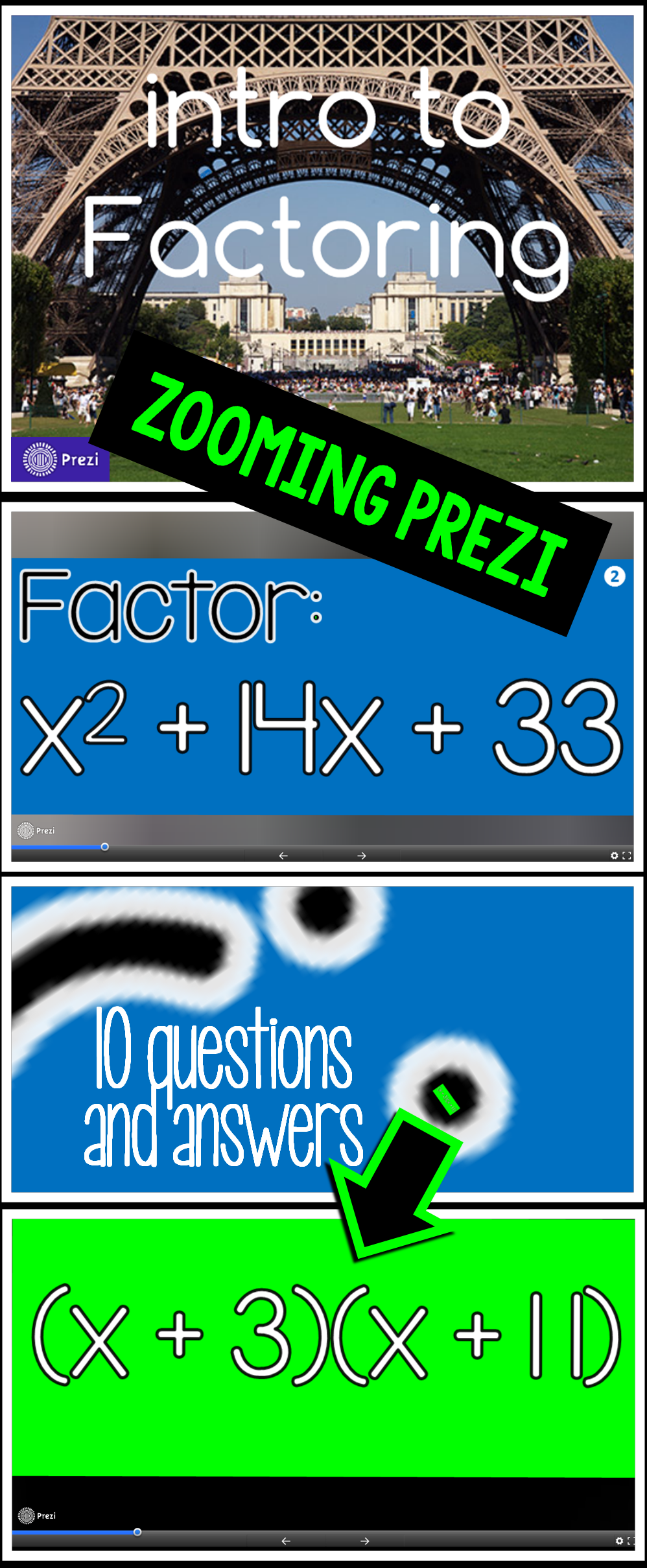 Intro To Factoring Prezi