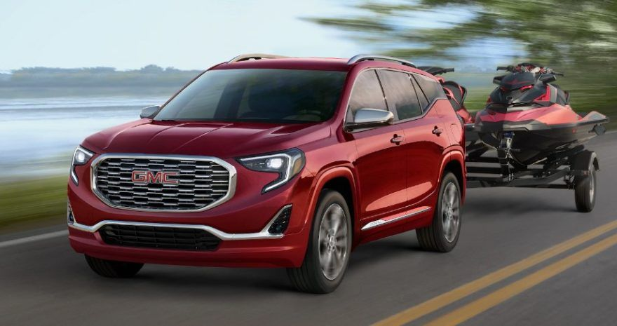 2020 Gmc Terrain Denali Overview Price Interior Gmc Terrain