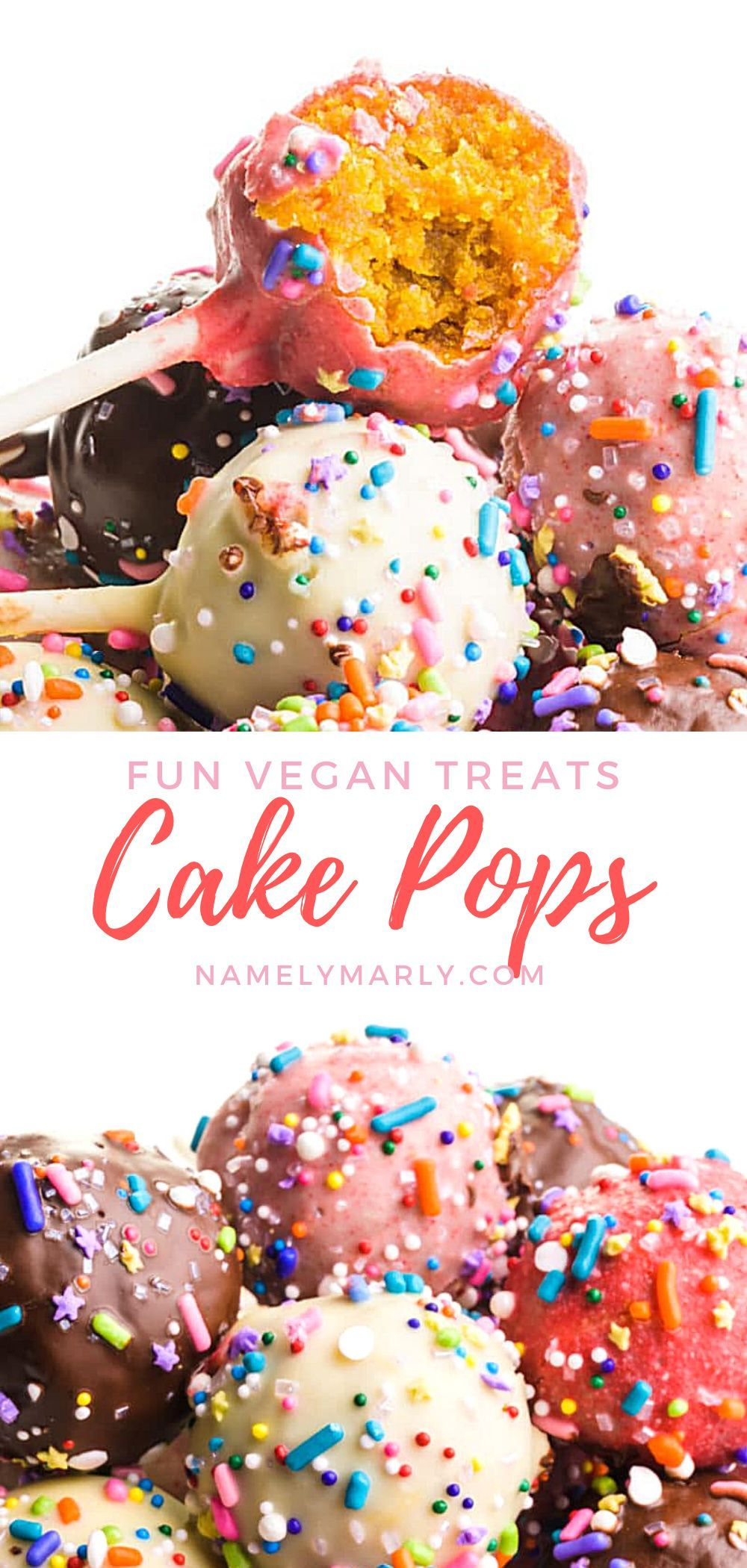 Cake Pops Made Vegan And Dairy Free In 2020 Vegan Cake Pops Recipe Cake Pop Recipe Vegan Cake Pops