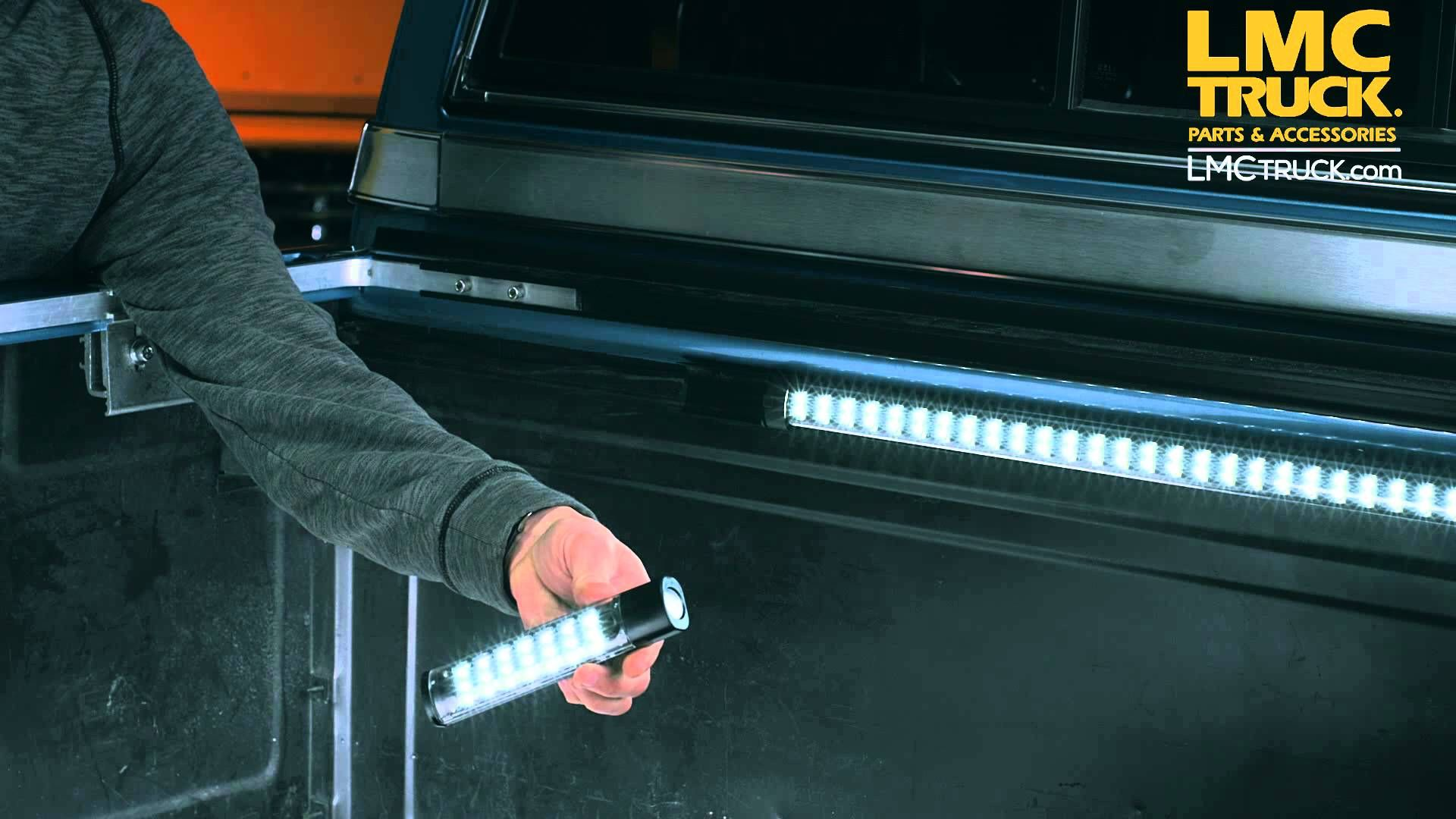 Led utility light bar httplmctruckproduct videosled truck bed bars with lights in the present world the use of electronics and appliances are essential for daily living aloadofball Image collections