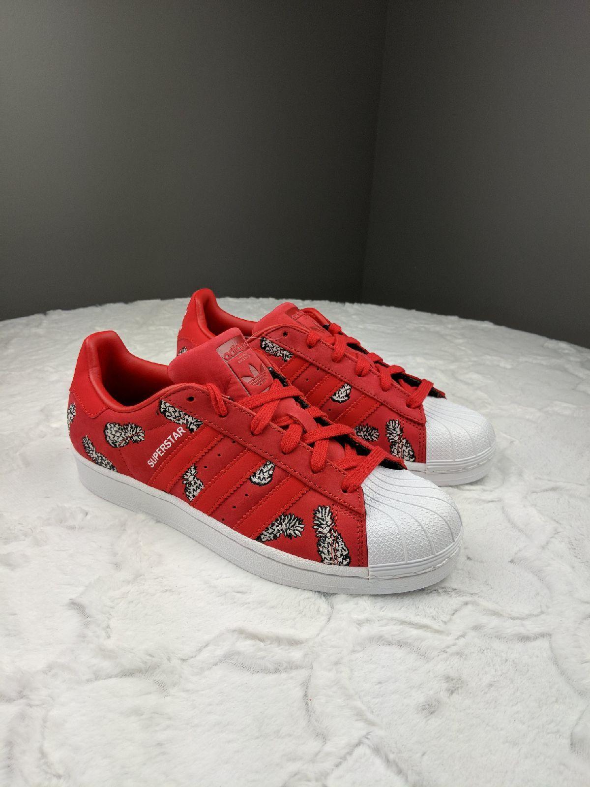 NWT Adidas Superstar Pineapple Design