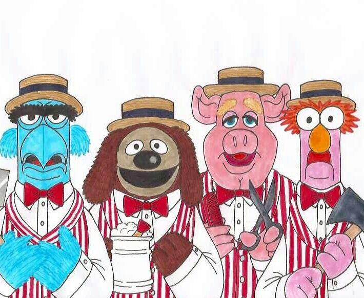 MUPPETS BARBERSHOP QUARTET | The Muppets | Barber shop ...