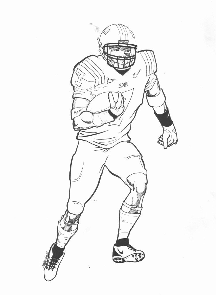 32 Odell Beckham Jr Coloring Page In 2020 Odell Beckham Jr