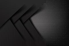 Abstract Background Dark And Black Carbon Fiber Vector Illustration Eps10 004 Stock Illustration Black Design Metallic Blue Tech Design