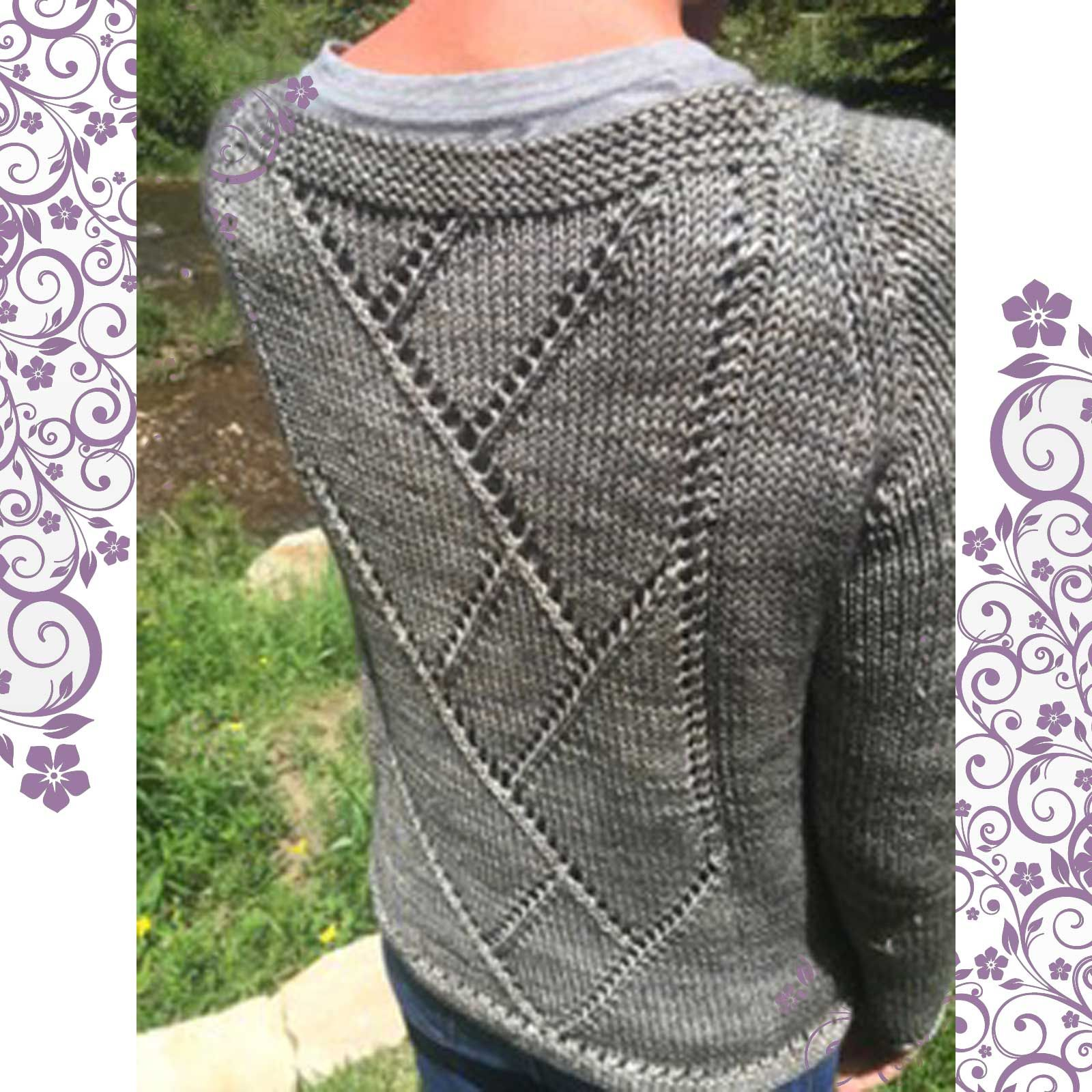 Center Street Pullover | Knitting patterns, Stitch and Patterns