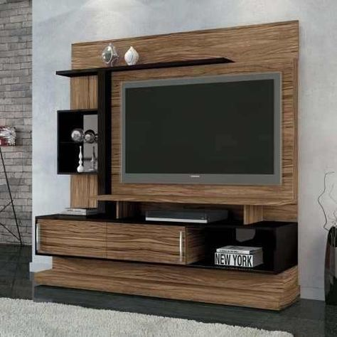 Modular panel mesa tv rack lcd muebles ryo modelo cuyen for Muebles bibliotecas para living