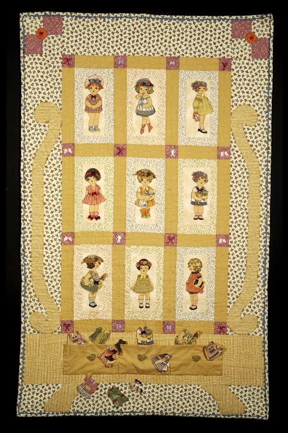 Fabric Paper Doll Quilt Doll Quilt Mini Quilts Quilts