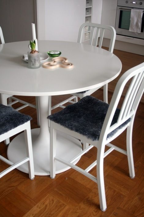 Dining Room Table Pad Covers Adorable Cut Out These Easy Buttwarmers For All Of Your Kitchen Chairs Diys Design Inspiration