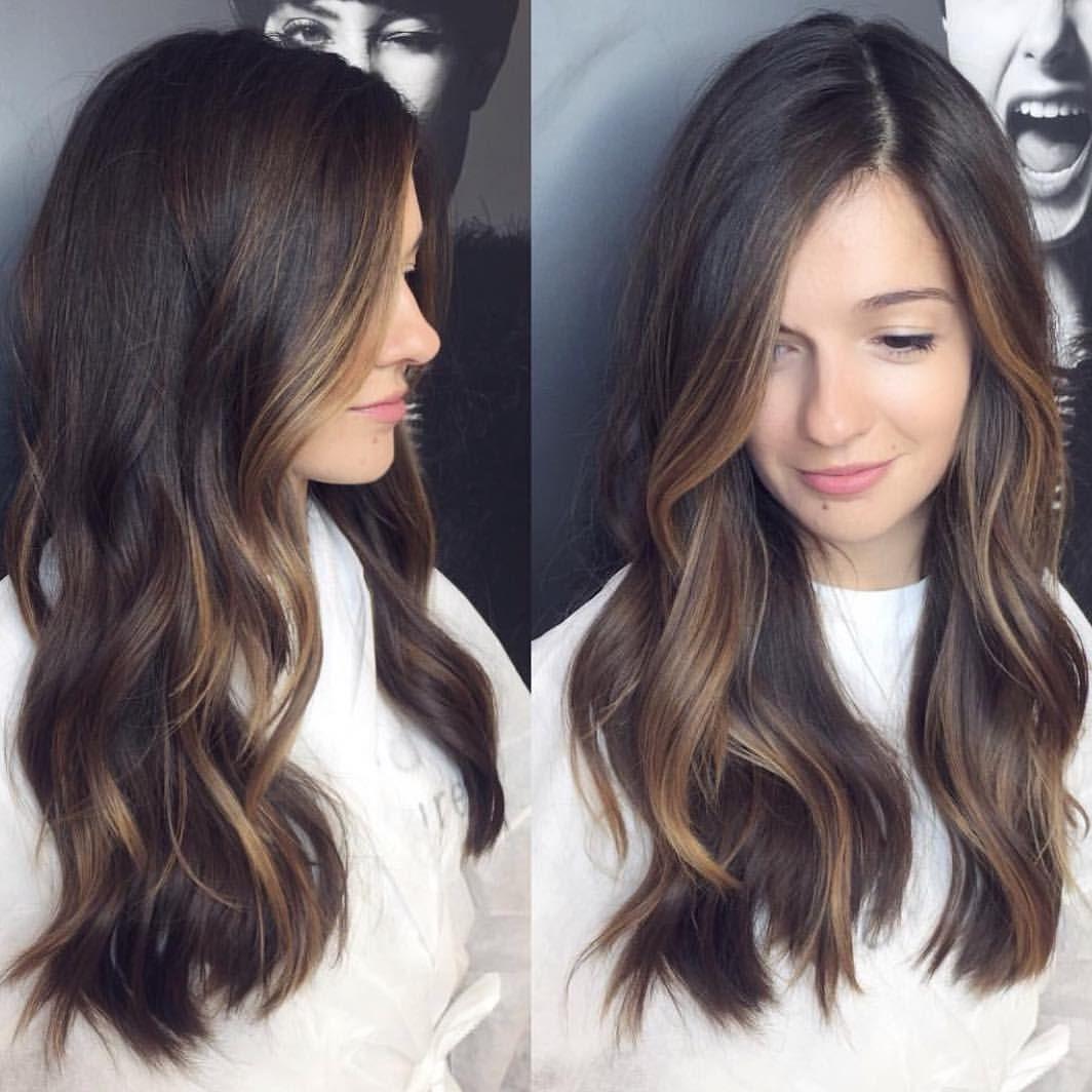 5 125 Curtidas 61 Comentarios Balayage Beautiful Hair Bestofbalayage No Instagram F Dark Brunette Balayage Hair Straight Brunette Hair Balayage Hair
