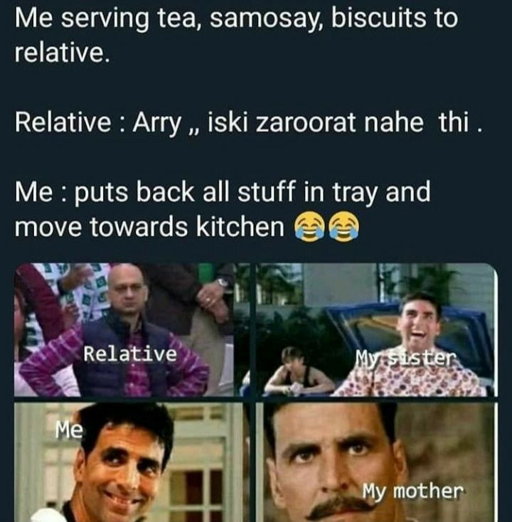 When Relatives Arrive When Me Latest Funny Jokes Fun Quotes Funny Funny Facts