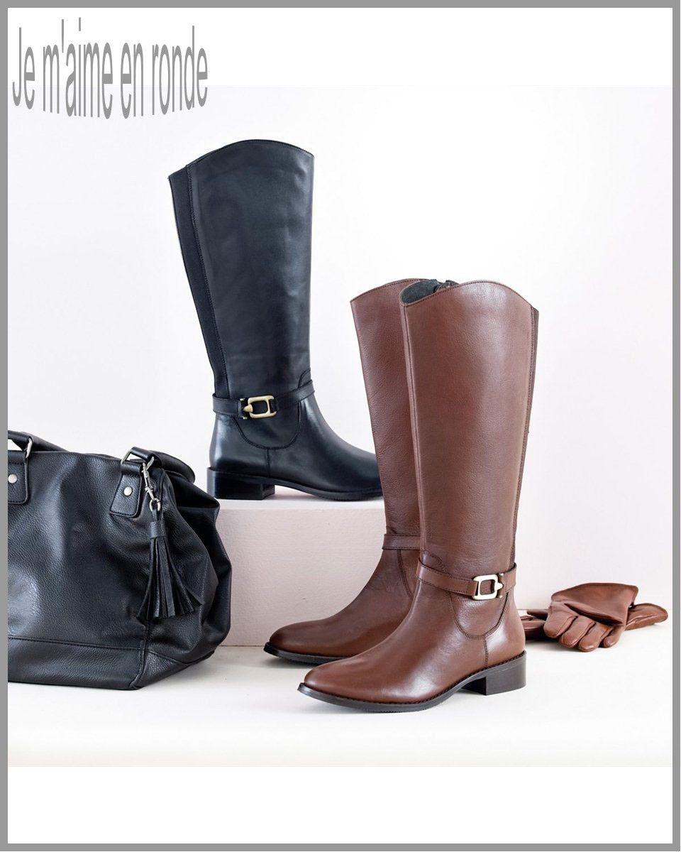 boots et bottes femme pour grosse cheville et gros mollet de la