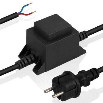 Led 10 Watt Trafo Von Parlat Ip44 Primar 230v Ac Sekundar 12v Ac Transformator Netzgerat 12 Volt 10w Amazon De Beleuchtung Led Trafo Netzteile Led