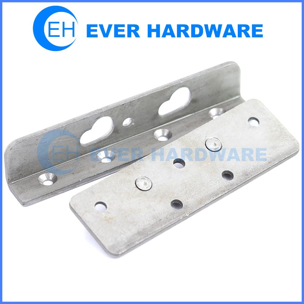 Bed Rail Bolts No Mortise Rail Hardware Bed Frame Fasteners Home