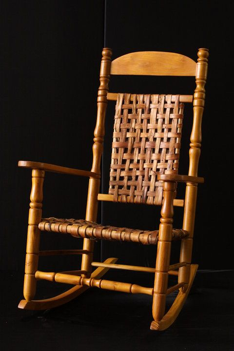 Greg Harkins Plantation Rocker Custom Made Furniture