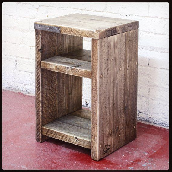 ANGSTROM   Reclaimed Wood Bedside Table