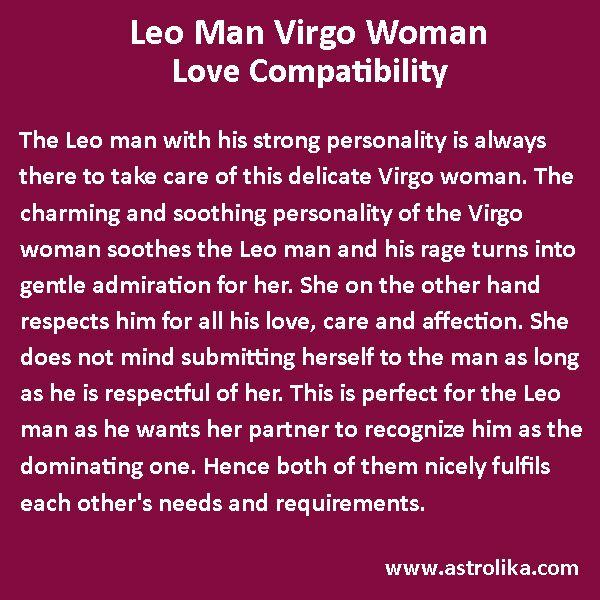 Compatibility of Aries Man and Virgo Woman