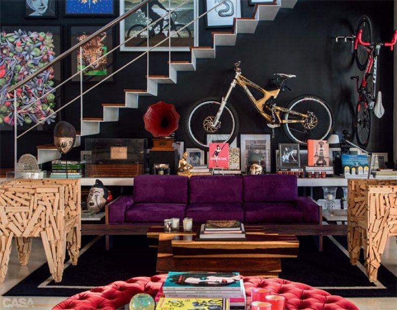 as bicicletas so das marcas intense amarela e look vermelha sof