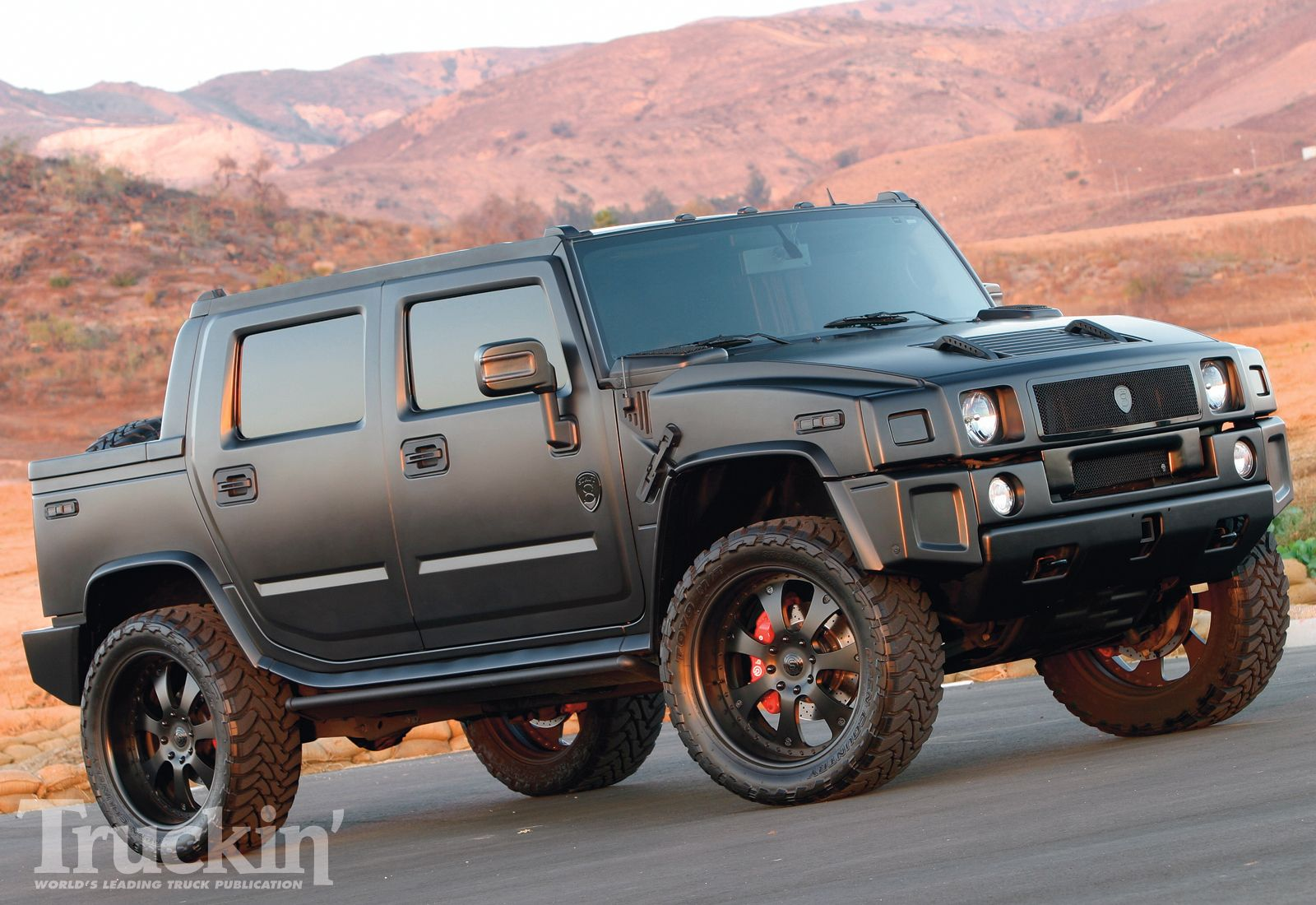 Picture of 2007 hummer h3 4 dr base exterior - 2007 Hummer H2 Sut Right Front Angle