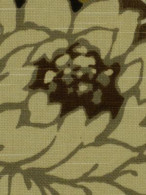 Robert Allen Fabric 162179 Basquiat Teak