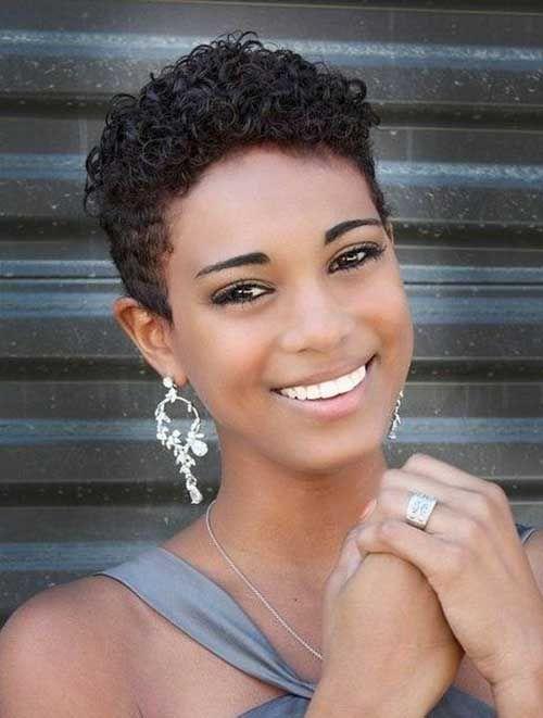 10 peinados muy cortos para las mujeres negras Peinados muy cortos