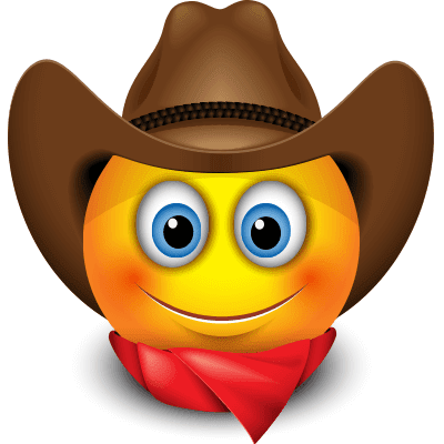 Cowboy Funny Emoticons Funny Emoji Faces Funny Emoticons Awesome