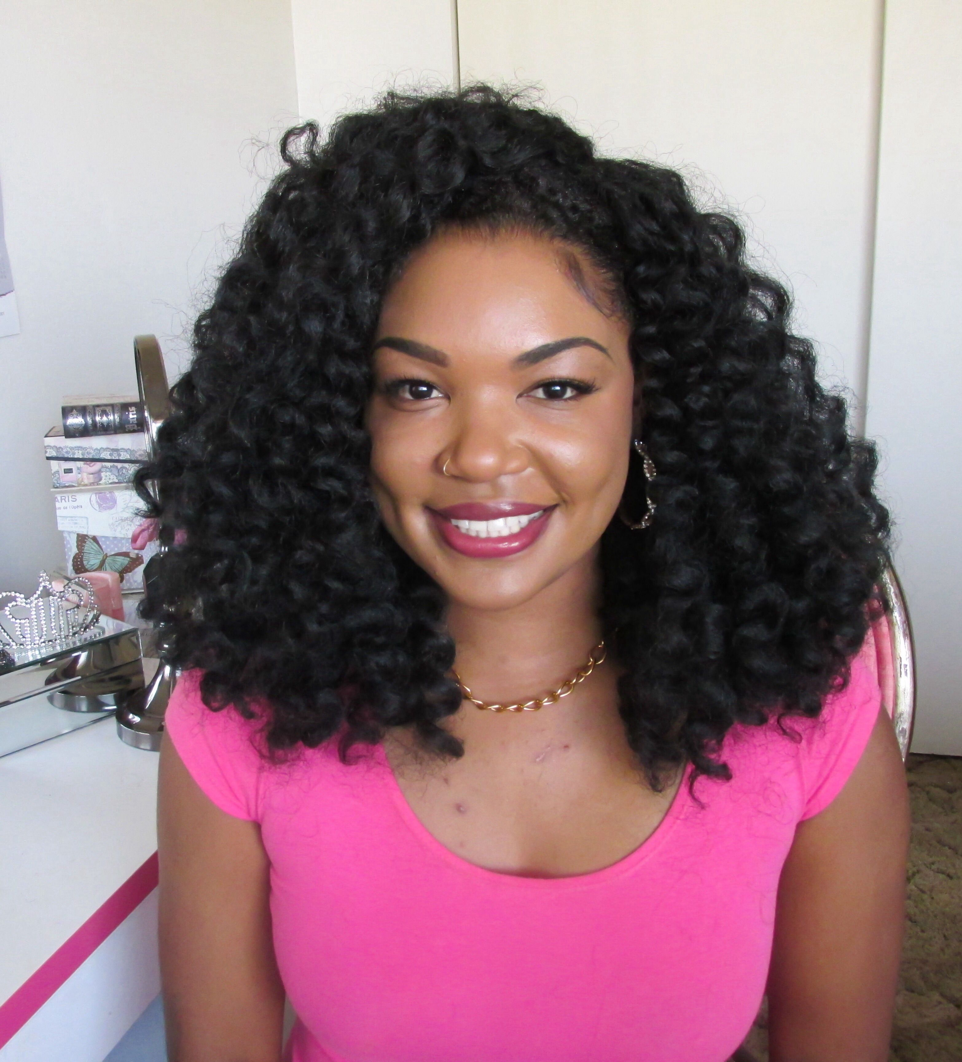 Protective Styles on Natural Hair  Protective styles Wig and Curly