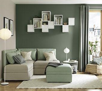 Vallentuna serie soggiorno ikea ikea arredamento for Combinazioni colori arredamento