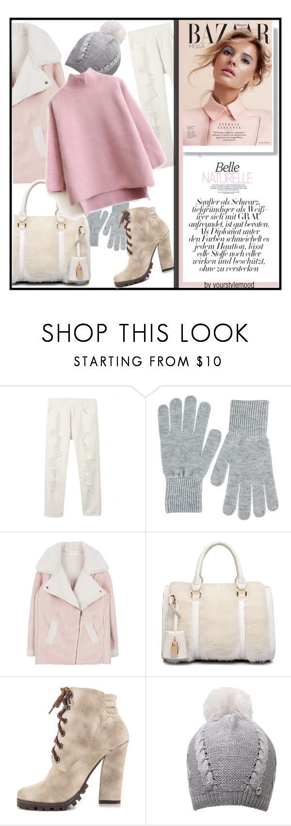 """""""Special day"""" by yourstylemood ❤ liked on Polyvore featuring NLY Accessories, Michael Antonio, UGG Australia, women's clothing, women's fashion, women, female, woman, misses and juniors"""