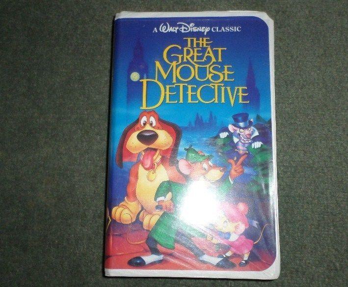 vintage the great mouse detective  vhs 1992   disney u0026 39 s