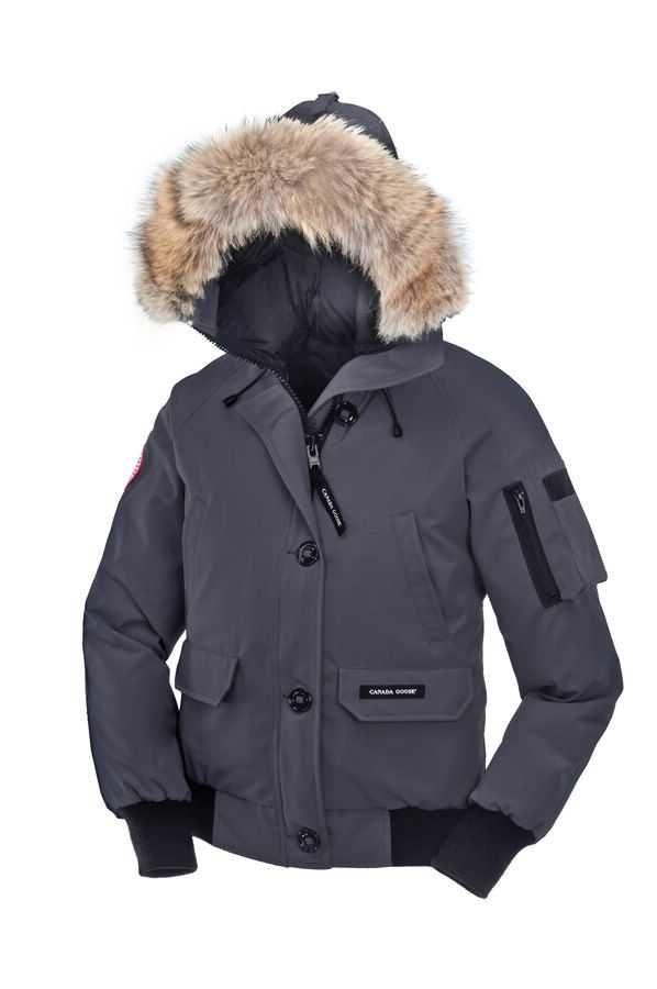 Women s Canada Goose Chilliwack Bomber Mid Grey  1a9ef431a