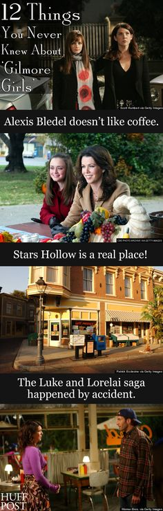 """Here are 12 facts about """"Gilmore Girls"""" that might surprise you!"""