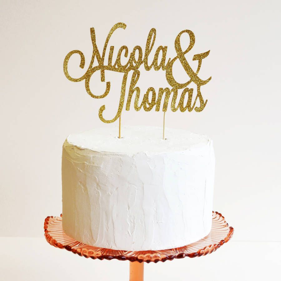 Topper   wedding cakes   Pinterest   Personalized cake toppers ...