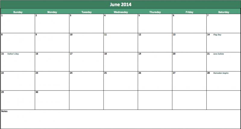 June 2014 Calendar Printable Calendars Pinterest Printable