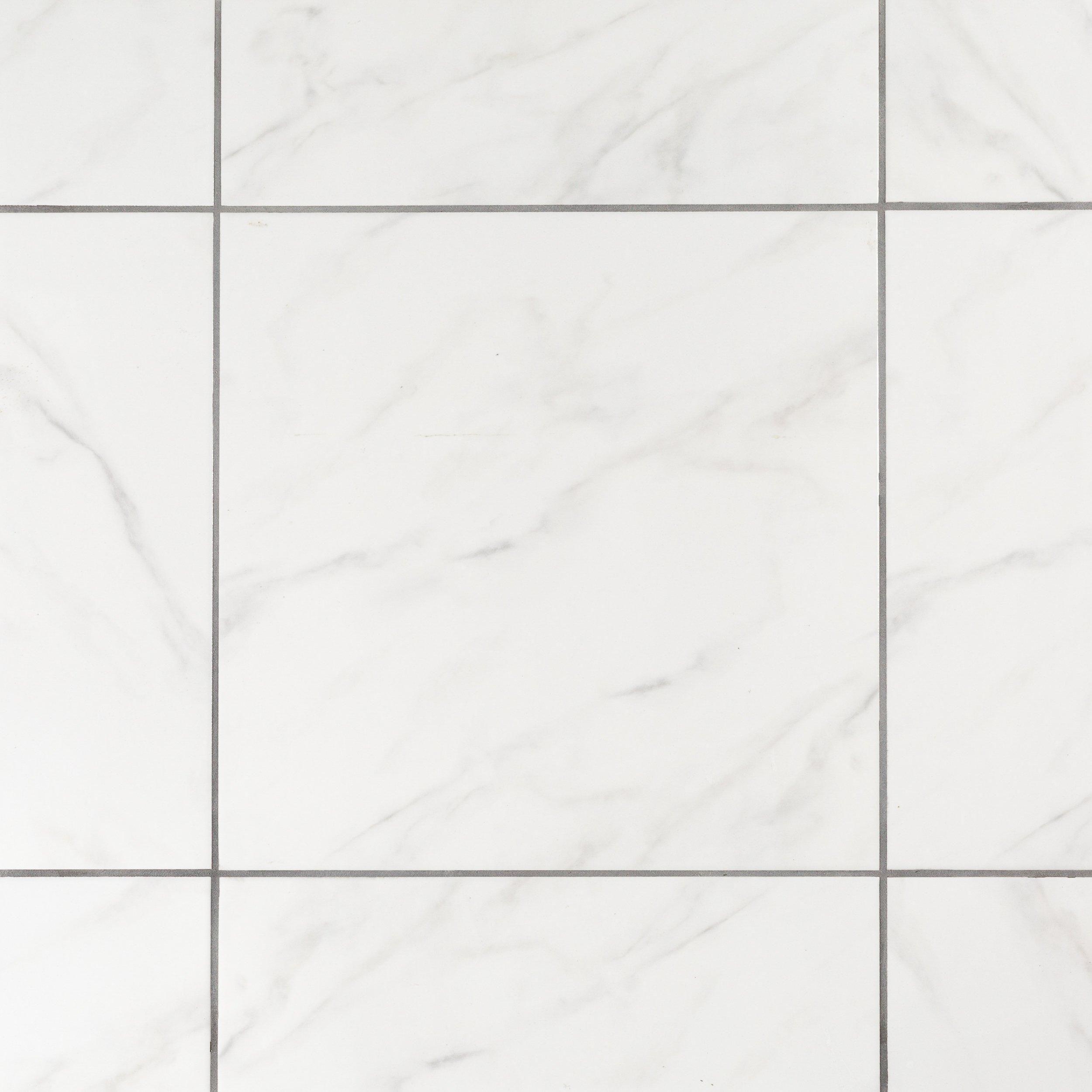 Silver White High Gloss Ceramic Tile