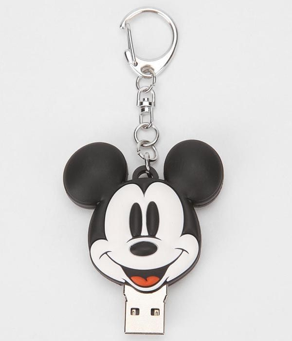 Mickey Mouse USB Flash Drive Keychain