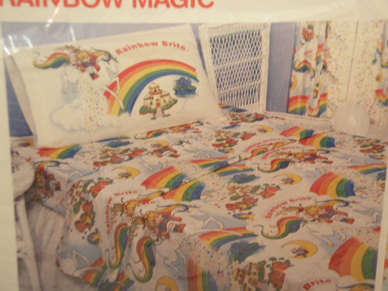 rainbow brite bedding - google search | rainbow brite | pinterest