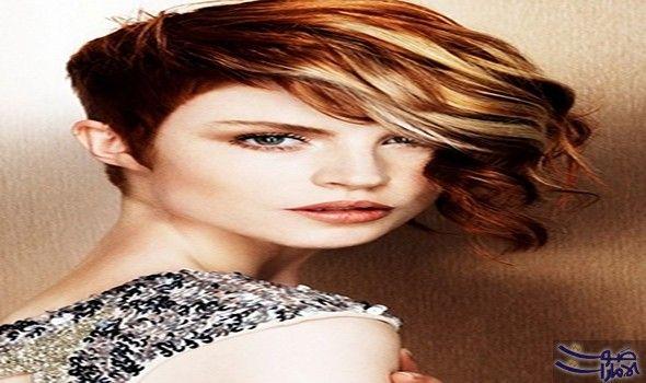 نور عريضة تعرض أفكار جديدة للشعر القصير قص الشعر بأسلوب البيكسي قرار يحتاج إلى شجاعة كبيرة والجرأة لاعتماد Half Shaved Hair Short Wavy Hair Hair Styles 2014