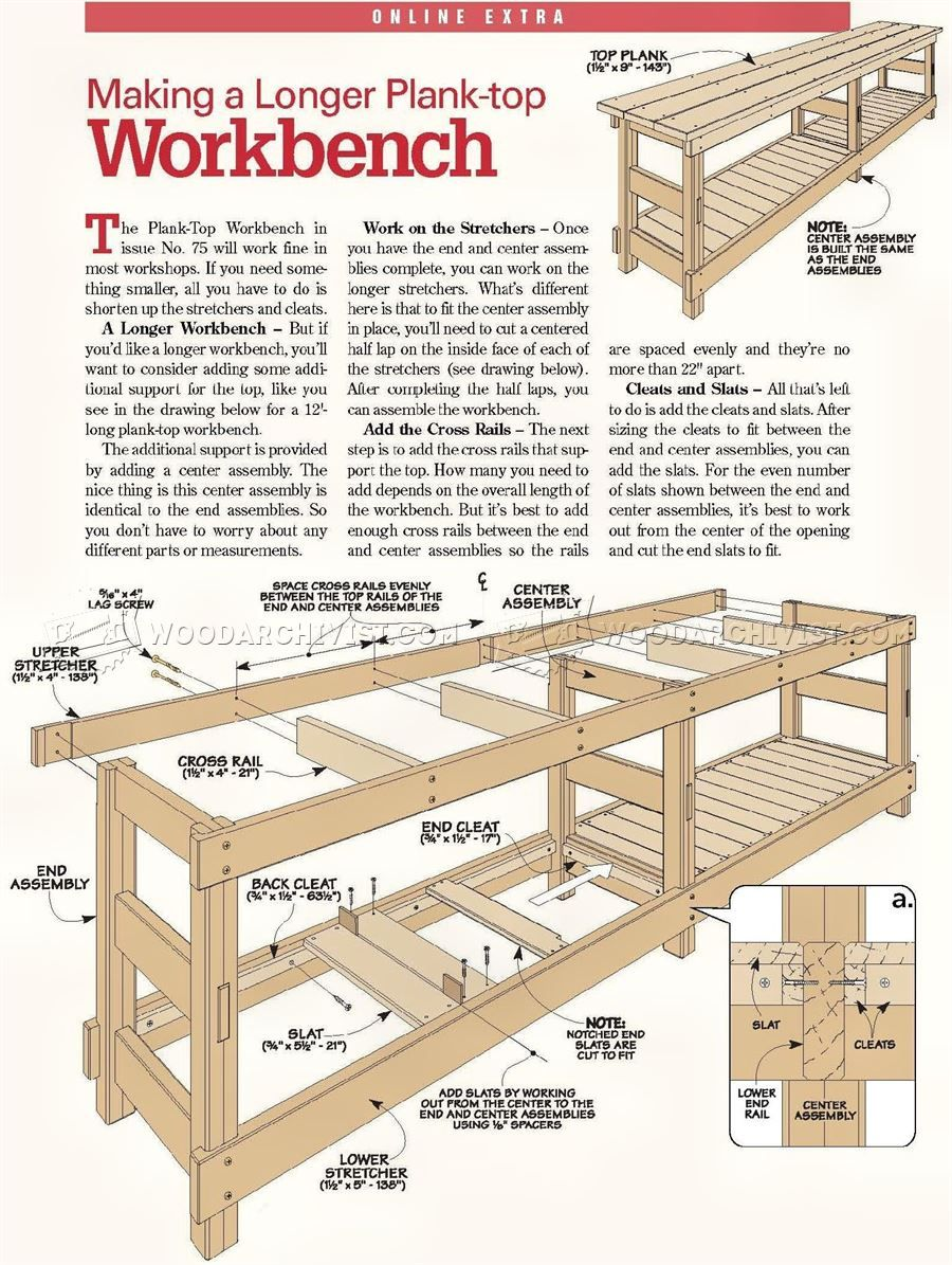 Drawer Pull Drill Jig Workbench plans, Workbench