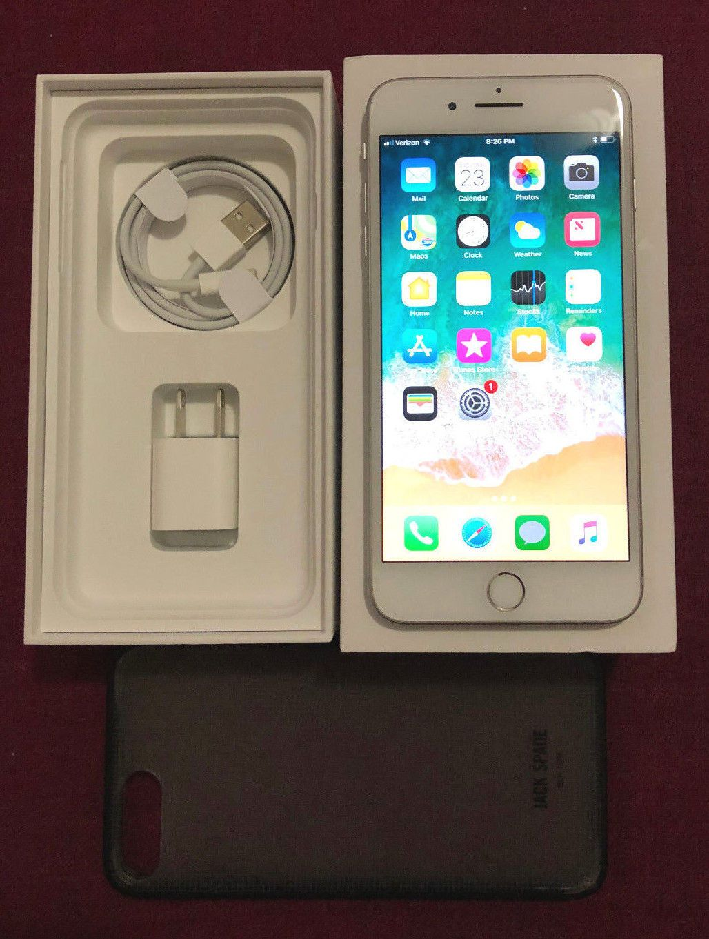 Apple Iphone 7 Plus 128gb Silver Factory Unlocked 5 5 12mp Smartphone A1661 Ebay Link Iphone 7 Plus Red Iphone 7 Plus Apple Iphone