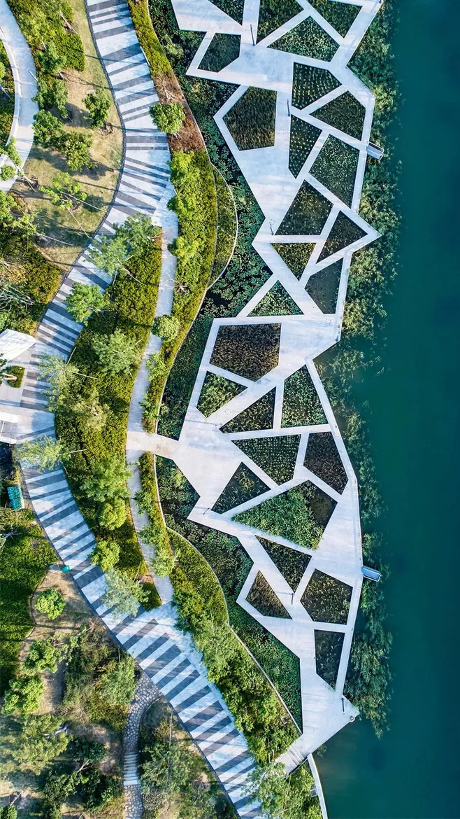 Wow This Bird S Eye View Is Too Overbearing Too Seductive 景 Circle Collecte In 2020 Urban Landscape Design Landscape Architecture Design Landscape Architecture