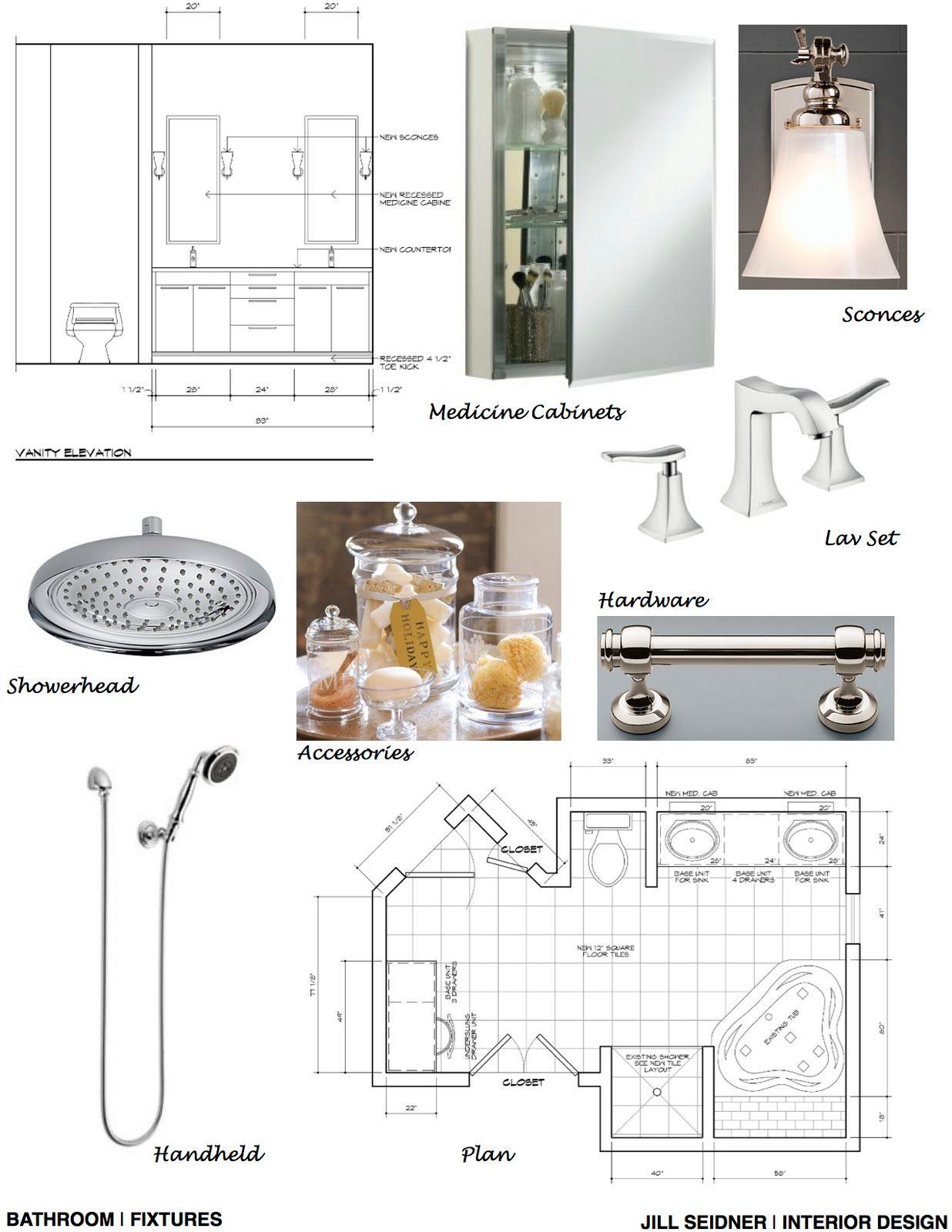 JILL SEIDNER   INTERIOR DESIGN: Concept Boards   Interior ...