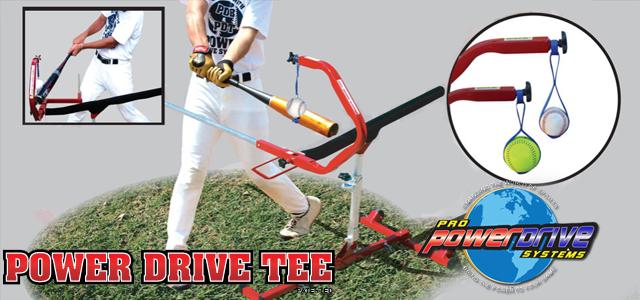Baseball Hitting Tee - Pro Power Drive Swing Trainer Tee http://www.batterupind.com/baseball_hitting_tee.html