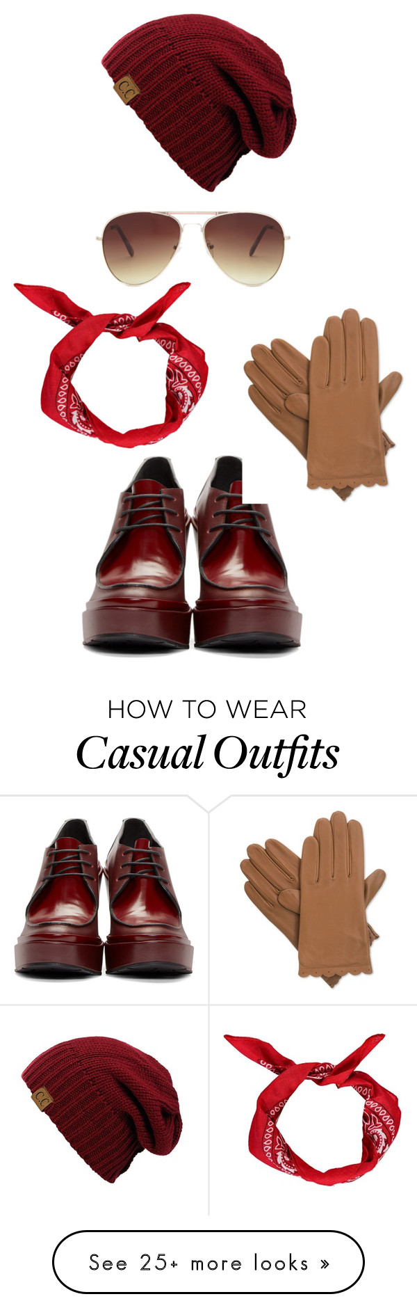 """Casual for autumn"" by ajusupovic on Polyvore featuring Jil Sander, Isotoner and Forever 21"