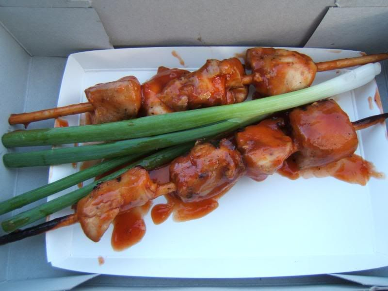 Disneyland chicken skewers Bengal BBQ- these are the best!