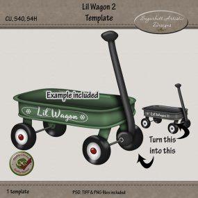 Lil Wagon 2 Template
