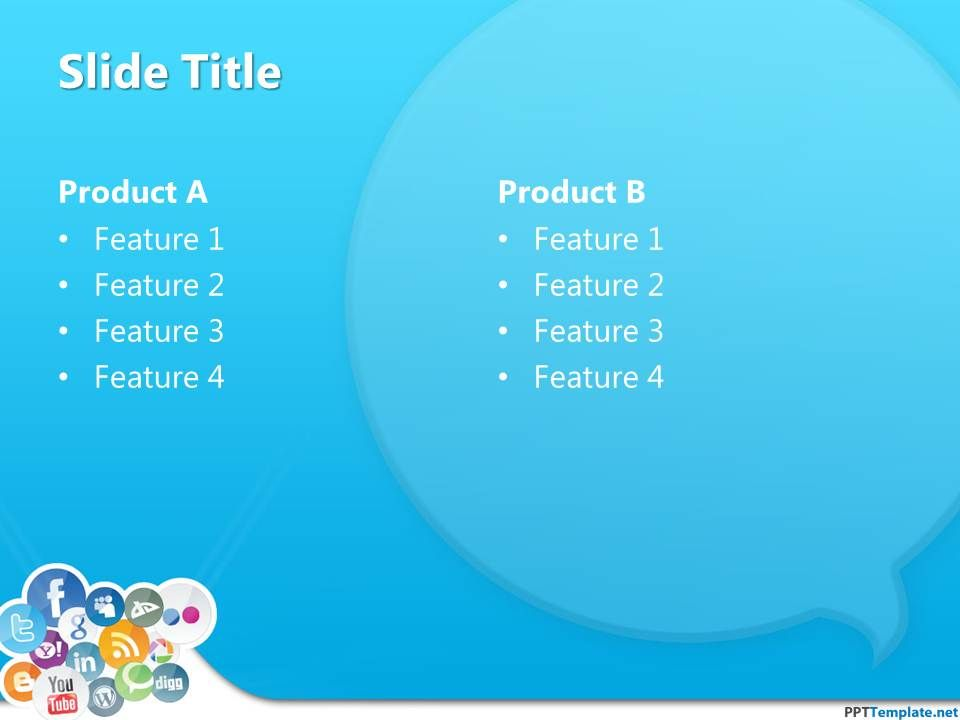 Download a free ppt template for social media reports and download a free ppt template for social media reports and presentations in microsoft powerpoint also toneelgroepblik Image collections