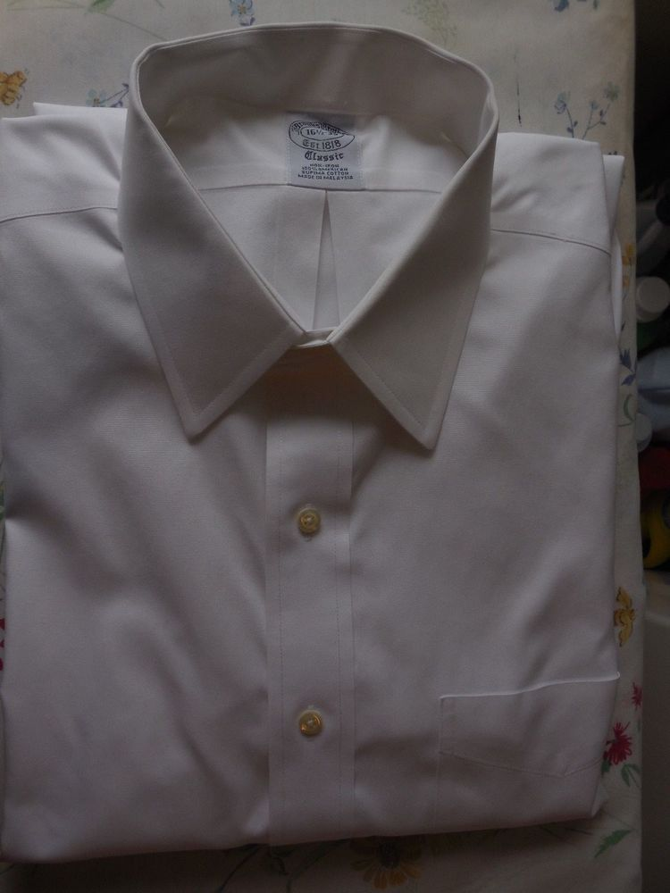 70bac7c2da1d4 Brooks Brothers non iron 100% american supima cotton shirt in size 16  1 2x35.  fashion  clothing  shoes  accessories  mensclothing  shirts (ebay  link)