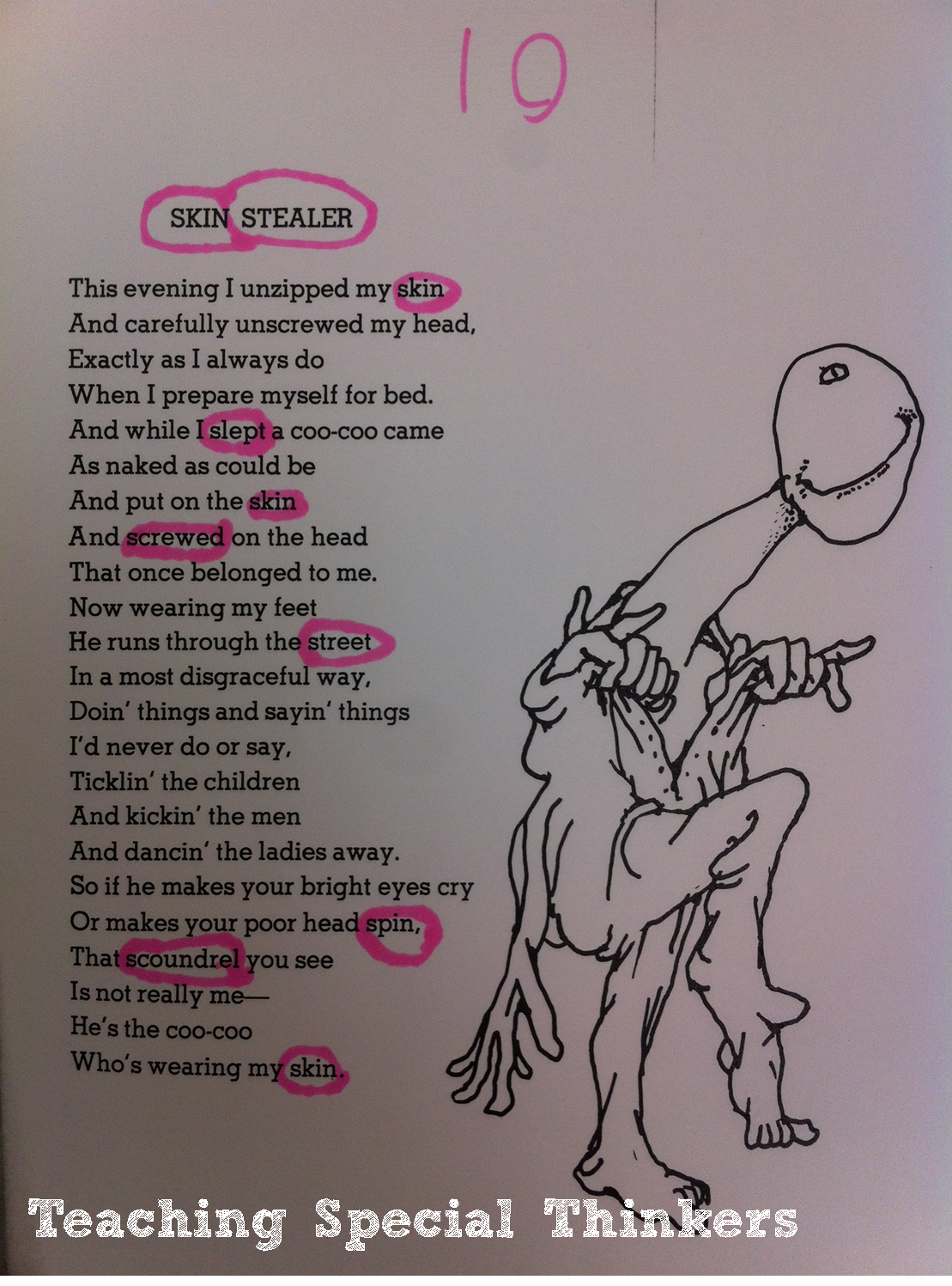 Using Shel Silverstein Poems for #PHONICS instruction. Kids love it!!